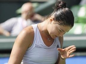 Токіо WTA: Сафіна сенсаційно поступилася в першому матчі