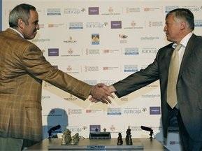 Суперматч шахматных легенд завершился победой Каспарова