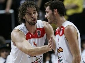 Испания разгромила Грецию и вышла в финал Евробаскета