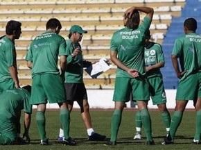Футбольна збірна Болівії всім складом пішла у відставку