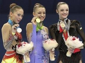 Художня гімнастика: Ганна Бессонова стала третьою в багатоборстві