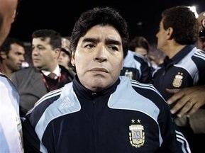 Марадона останется главным тренером сборной Аргентины