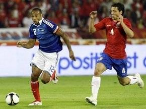 ЧМ-2010: Сербия сыграла вничью с Францией, Германия разгромила Азербайджан