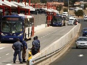 ЧМ-2010: В ЮАР таксисты объявили войну автобусам