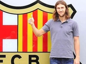 Чигринский официально стал игроком Барселоны