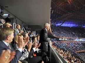 Евро-2012: Литвин уверен, что время для подписания закона о финансировании еще есть
