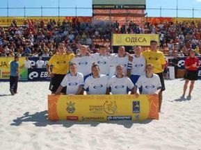 Пляжный футбол: Майндшер стал Чемпионом Украины