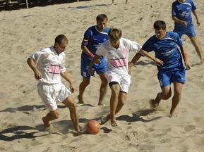 Чемпионат Украины по пляжному футболу: БРР  и Майндшер сыграют в финале