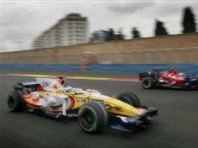 Гран-при Европы: Алонсо стал первым во второй практике