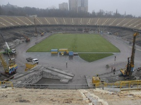 Евро-2012: Днепропетровская компания построит крышу над НСК Олимпийский