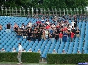 Болельщики хотели побить футболистов Черноморца