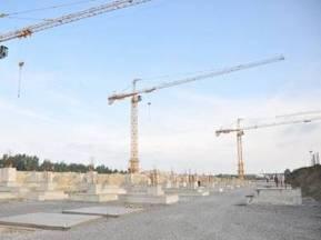 Євро-2012: На львівському стадіоні завершили будівництво фундаменту під трибуни