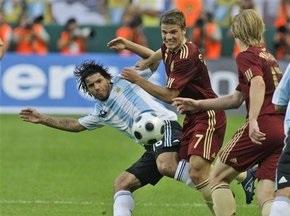 Россия уступила Аргентине в товарищеском матче