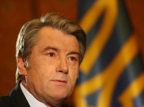 Ющенко хоче, щоб кожна сільська школа мала футбольне поле