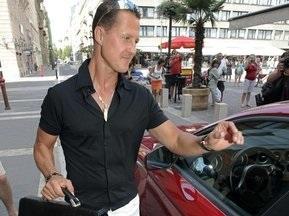 Шумахер відвідав Массу в госпіталі
