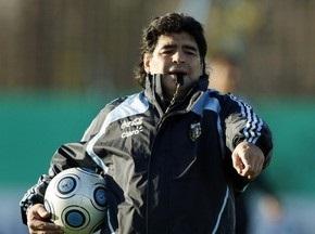 Марадона не хоче грати зі збірною Росії