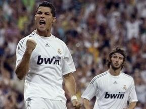 Роналдо забил первый гол за Реал