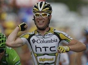 Тур Де Франс: Кавендиш став переможцем 19-го етапу