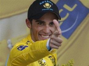 Тур де Франс: Контадор выиграл гонку с раздельным стартом