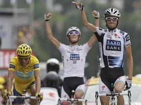 Тур де Франс: Контадор упрочнил свое лидерство в общем зачете