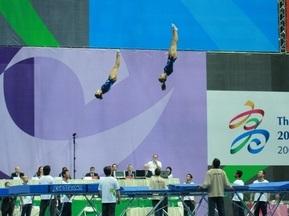 Всесвітні ігри-2009: Українки завоювали золото в стрибках на батуті