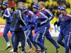 Збірна Росії відправиться на матч кваліфікації ЧC-2010 на потягу