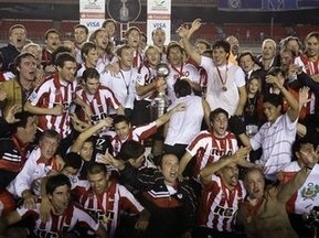 Эстудиантес выиграл Копа Либертадорес