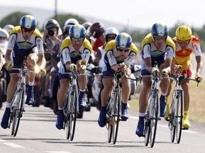 Команда Astana выиграла четвертый этап Тур де Франс