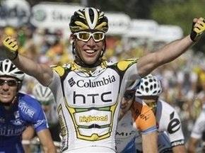 Тур де Франс-2009: Кавендиш первым пересекает финишную черту