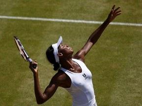 Wimbledon: Венус Уильямс вышла в полуфинал