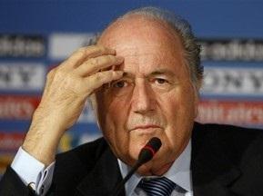 Блаттер критикує англійську Прем єр-лігу