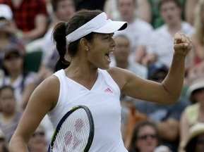 Wimbledon: Иванович выходит в 1/8 финала