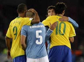 Фотогалерея: Бразилія - Італія. Танці на кістках