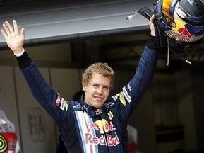 Гран-при Великобритании: Феттель побеждает на последней гонке в Сильверстоуне