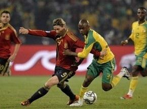 Кубок Конфедераций: Испания и ЮАР вышли в полуфинал