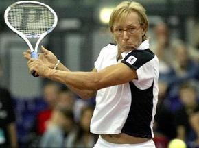 Навратілова хоче заборонити тенісисткам кричати під час матчів