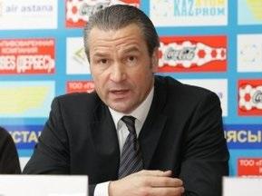 Тренер Казахстану сподівається на успіх у Києві