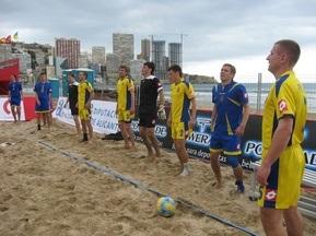 Пляжний футбол: Українці програли неважливий матч