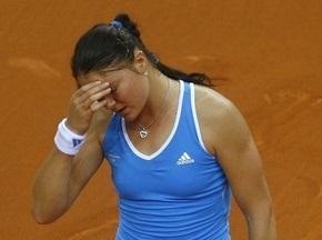 Roland Garros: У Сафиной проблемы со здоровьем