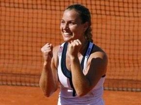 Цибулкова рассказала о победе над Шараповой