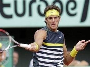 Roland Garros-2009: Дель Потро сыграет с Робредо в четвертьфинале