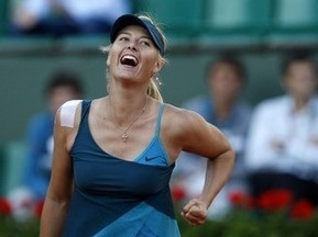 Roland Garros: Шарапова пробилася в 1/8 фіналу