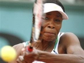 Roland Garros: Вінус Вільямс програє Шавай