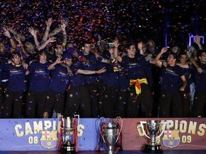 Реал поздравил Барселону