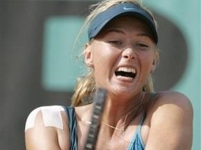 Roland Garros: Шарапова едва пробилась в третий круг