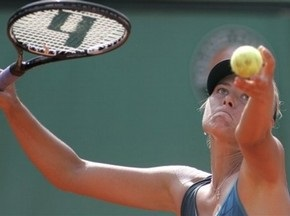 Roland Garros: Шарапова проходит в следующий раунд