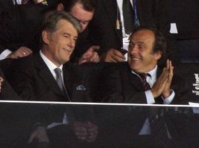 Ющенко привітає Шахтар з перемогою в Кубку УЄФА