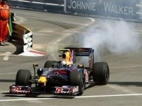 Гран-прі Монако: У Феттеля згорів мотор під час практики
