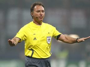 Рефери матча Шахтер-Вердер закончит судейскую карьеру после финала Кубка УЕФА