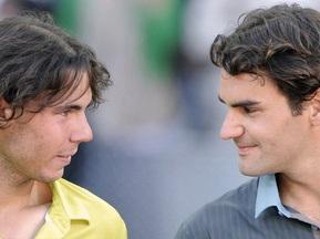 Фотогалерея: Надаль vs Федерер. Побачення напередодні Roland Garros